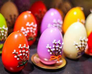 easter decorative eggs - image gratuit #187471