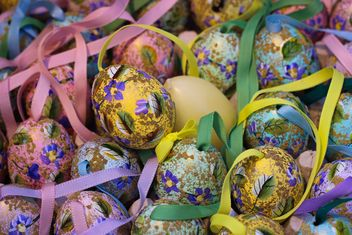 Painted Easter eggs - Free image #187511