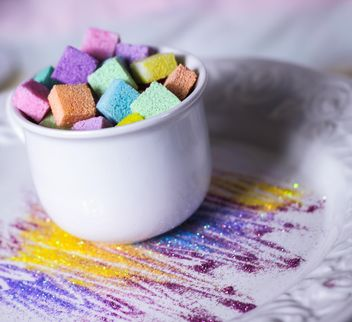 Colorful refined sugar - бесплатный image #187641