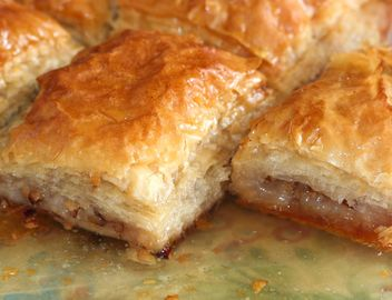 Homemade Greek Baklava with walnut - Free image #187861