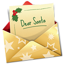 Christmas Letter - icon gratuit #188781