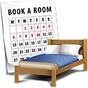 Book A Room - icon gratuit #188851