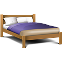 Double Bed - icon gratuit #189251