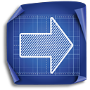 Arrow Right - icon #189371 gratis