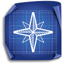Compass Rose - icon gratuit #189391