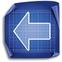 Arrow Left - icon #189461 gratis