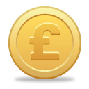 Pound Coin - icon #189811 gratis