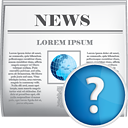 News Help - icon #190401 gratis