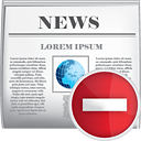 News Remove - icon gratuit #190411
