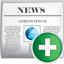 News Add - icon #190431 gratis