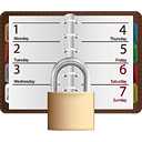 Note Book Lock - icon gratuit #190501