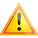 Warning - icon gratuit #190551