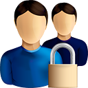 Users Lock - icon #190571 gratis