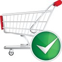 Shopping Cart Accept - icon gratuit #190701