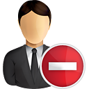 Business User Remove - icon gratuit #191031