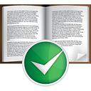 Book Accept - icon #191041 gratis