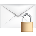 Mail Lock - icon gratuit #191081