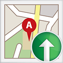 Map Up - icon #191151 gratis
