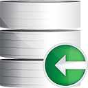Database Previous - Free icon #191201