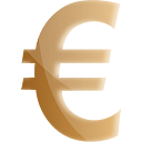 Euro or - icon gratuit #191211