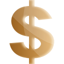 Dollar Gold - icon #191231 gratis