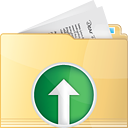 Folder Up - icon #191321 gratis