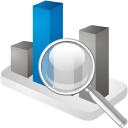 Chart Search - icon #192331 gratis