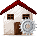 Home Process - icon gratuit #193161