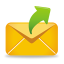 Yellow Mail Send - icon #193241 gratis