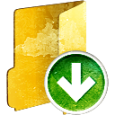 Folder Down - icon #194001 gratis