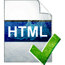 Page HTML accepter - icon gratuit #194031
