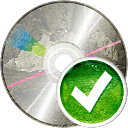 CD aceptar - icon #194221 gratis
