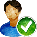 User Accept - icon gratuit #194241