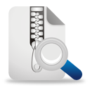 Zip File Search - Free icon #194311
