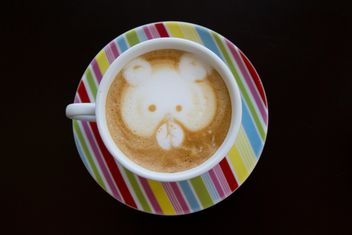 Coffee latte art - image #194361 gratis