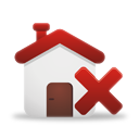 Delete Home - icon gratuit #194881