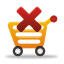 Remove From Shopping Cart - Kostenloses icon #194891