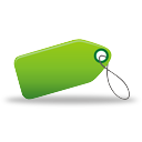 Tag Green - icon gratuit #194961