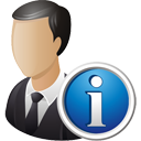 Business User Info - Kostenloses icon #195211