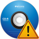 Cd Warning - icon gratuit #195231