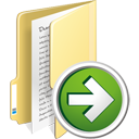Folder Next - icon gratuit #195351