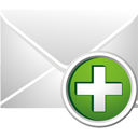Mail Add - Free icon #195461