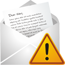 New Mail Warning - Kostenloses icon #195521