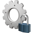 Process Lock - icon gratuit #195611