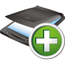 Scanner Add - Free icon #195651