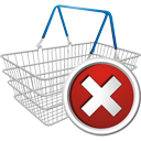 Shopping Cart Delete - Kostenloses icon #195671
