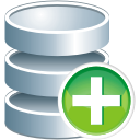 Database Add - Free icon #196001