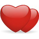 Hearts - icon gratuit #196421