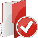 Folder Accept - icon gratuit #196711