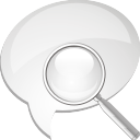 Comment Search - icon gratuit #196771